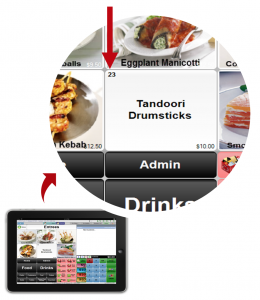 restaurant POS features